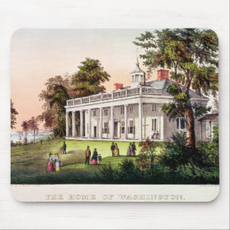 The Home of George Washington Mouse Pad