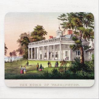 The Home of George Washington Mouse Pad