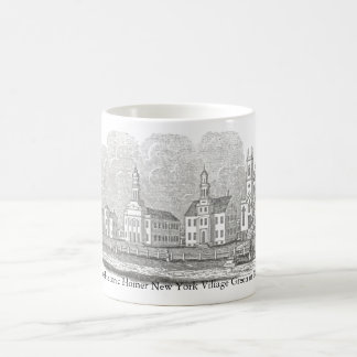 The Homer NY Commons (Village Green) in 1842 Coffee Mug