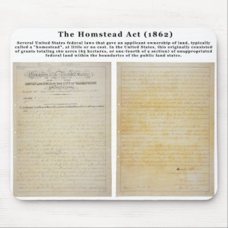 The Homestead Acts Mouse Pad