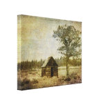The Homestead Stretched Canvas Prints