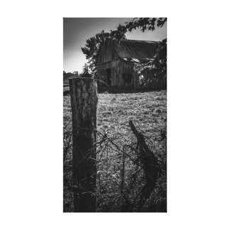 The homested canvas print