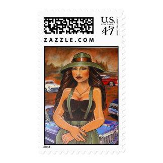 The Homie Lisa Postage