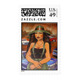 The Homie Lisa Postage Stamps