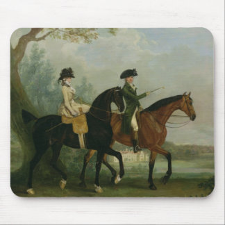 The Hon. Marcia Pitt Riding with her Brother, the Mouse Pad