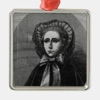 The Hon. Mrs Yelverton, 1861 Metal Ornament