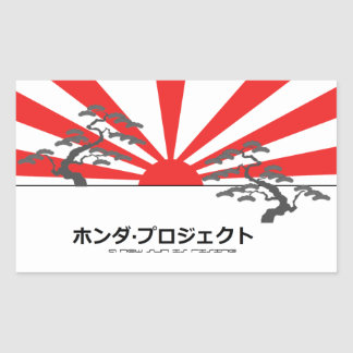 The Honda Project sticker