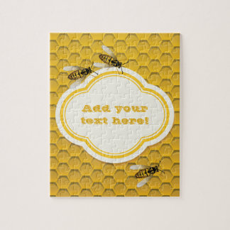 The Honeycomb and Bees Jigsaw Puzzle