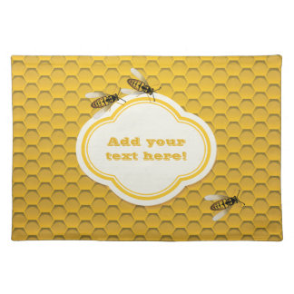 The Honeycomb and Bees Placemat