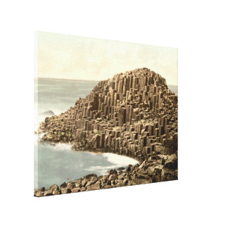 The Honeycombs, Giant's Causeway, Co Antrim Canvas Print