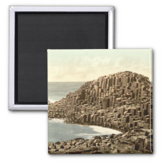 The Honeycombs, Giant's Causeway, County Antrim 2 Inch Square Magnet