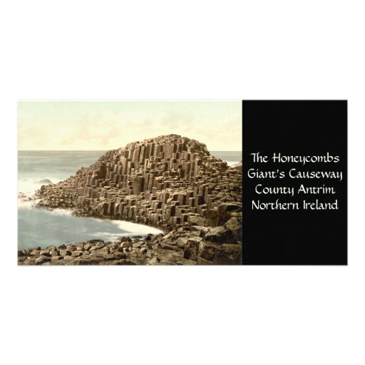 The Honeycombs, Giant's Causeway, County Antrim Photo Card