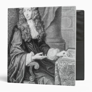 The Honorable Robert Boyle engraved by B. Baron Binder