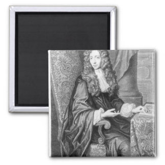The Honorable Robert Boyle engraved by B. Baron Magnet
