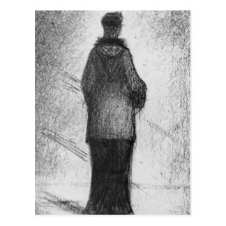 The hood by Georges Seurat Postcard