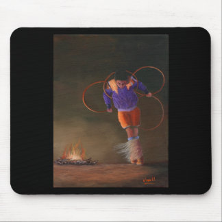 The Hoop Dancer Mouse Pad