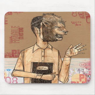 THE HOPE LION MOUSE PAD