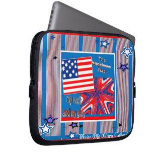 The Hopkinson Flag ~ Electronics Sleeve Laptop Computer Sleeves