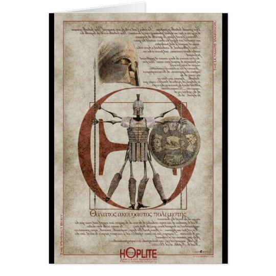 The Hoplite Tireless Warrior - Perfect Body Card