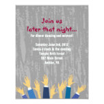 The Hora Chair Dance Bar Bat Mitzvah Party Card Announcements