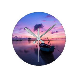 The Horizon Round Clock