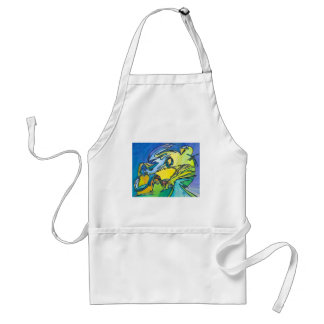 The Horn - Music Themed Series Adult Apron