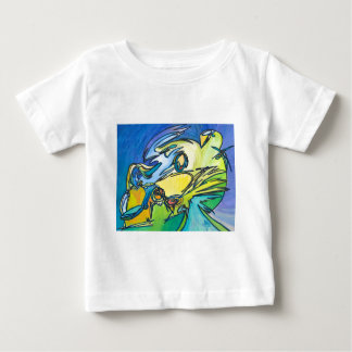 The Horn - Music Themed Series Baby T-Shirt