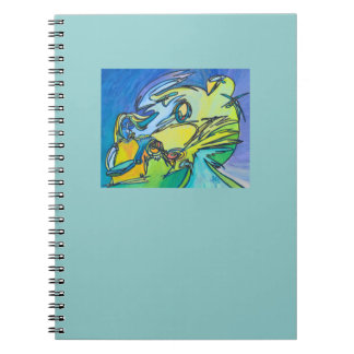 The Horn - Music Themed Series Notebook