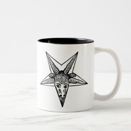 The Horned God Two-Tone Coffee Mug