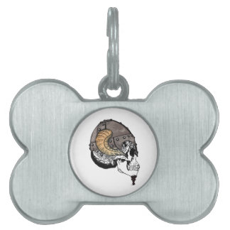 The Horned Warrior Pet Name Tag