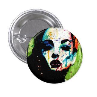 The Horrible Secret Pop Art Portrait Pins