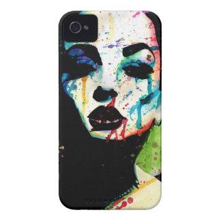 The Horrible Secret - Pop Art Portrait iPhone 4 Case