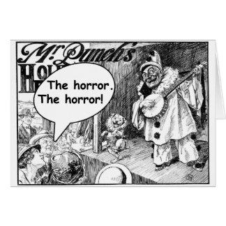 The Horror (Evil Banjo Clown) Card