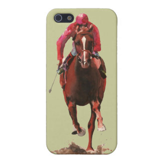 The Horse and Jockey Case For iPhone SE/5/5s