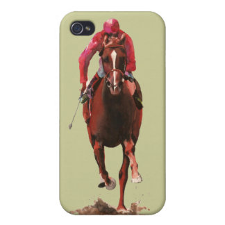 The Horse and Jockey iPhone 4/4S Covers