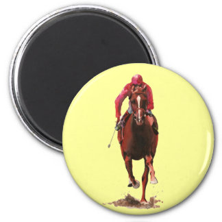 The Horse and Jockey Magnet