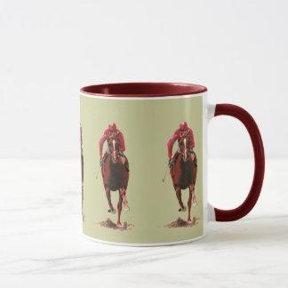 The Horse and Jockey Mug