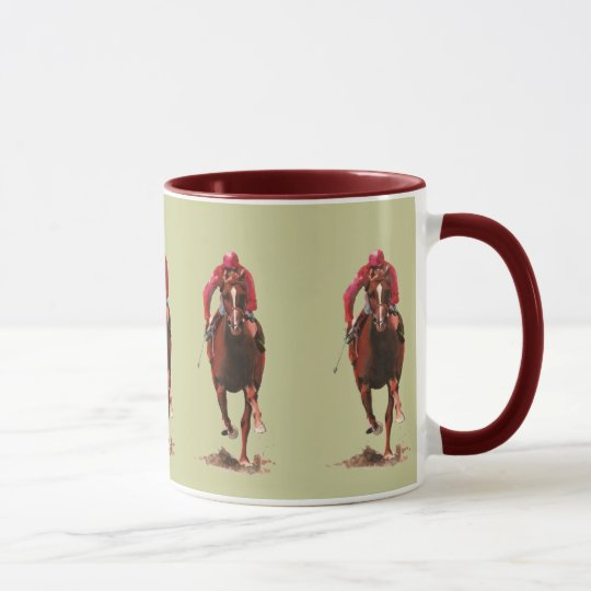 The Horse and Jockey Mug