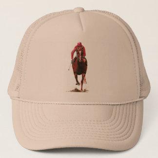 The Horse and Jockey Trucker Hat