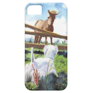 The Horse and the Terrier iPhone SE/5/5s Case