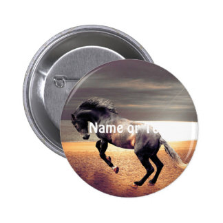 The Horse 2 Inch Round Button