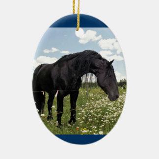 The Horse Ceramic Ornament