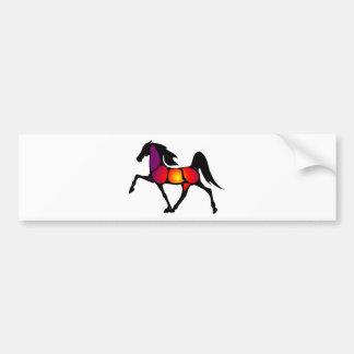 THE HORSE EVE CAR BUMPER STICKER