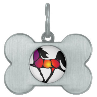 THE HORSE EVE PET ID TAG
