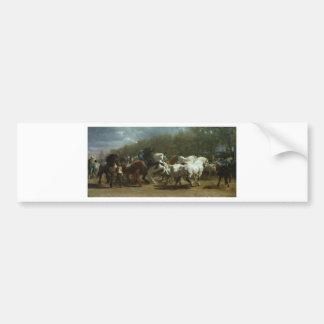 The Horse Fair by Rosa Bonheur Bumper Sticker
