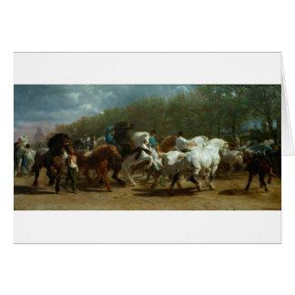 The Horse Fair by Rosa Bonheur Card