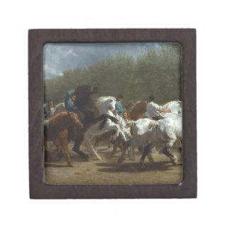 The Horse Fair by Rosa Bonheur Jewelry Box