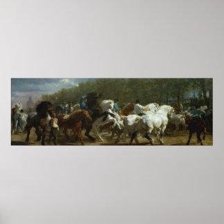 """The Horse Fair"" by Rosa Bonheur Poster, Print"