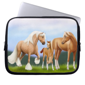 The Horse Family Electronics Bag Laptop Sleeve