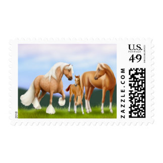 The Horse Family Postage